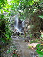 Coban Watu Kunci Mojokerto atau air terjun watu kunci