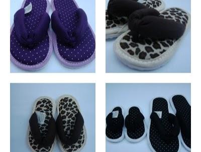 f056469fbc4b89 Chinelos de Quarto - Cloth Slippers - Chinelos em Tecidos ...