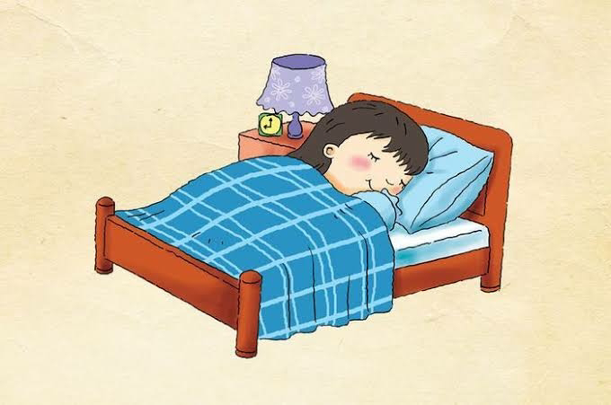 Sleeping well also is important for a strong immunity