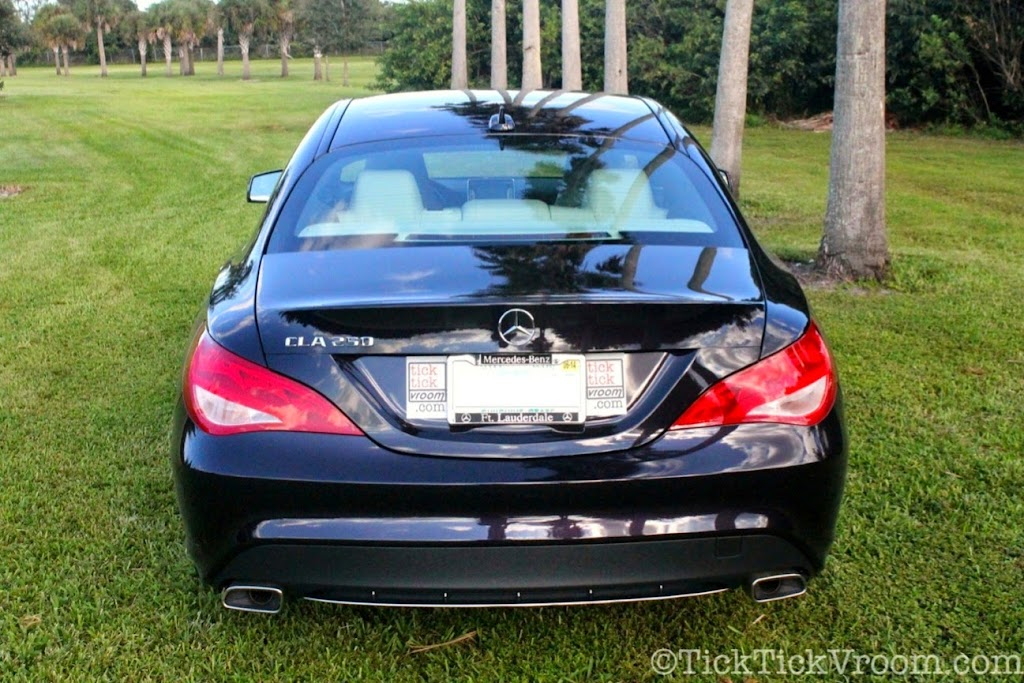2014 Mercedes-Benz CLA250 Long-Term Test Car - Northern Lights Violet Metellic Long Term Review Road Test 6020