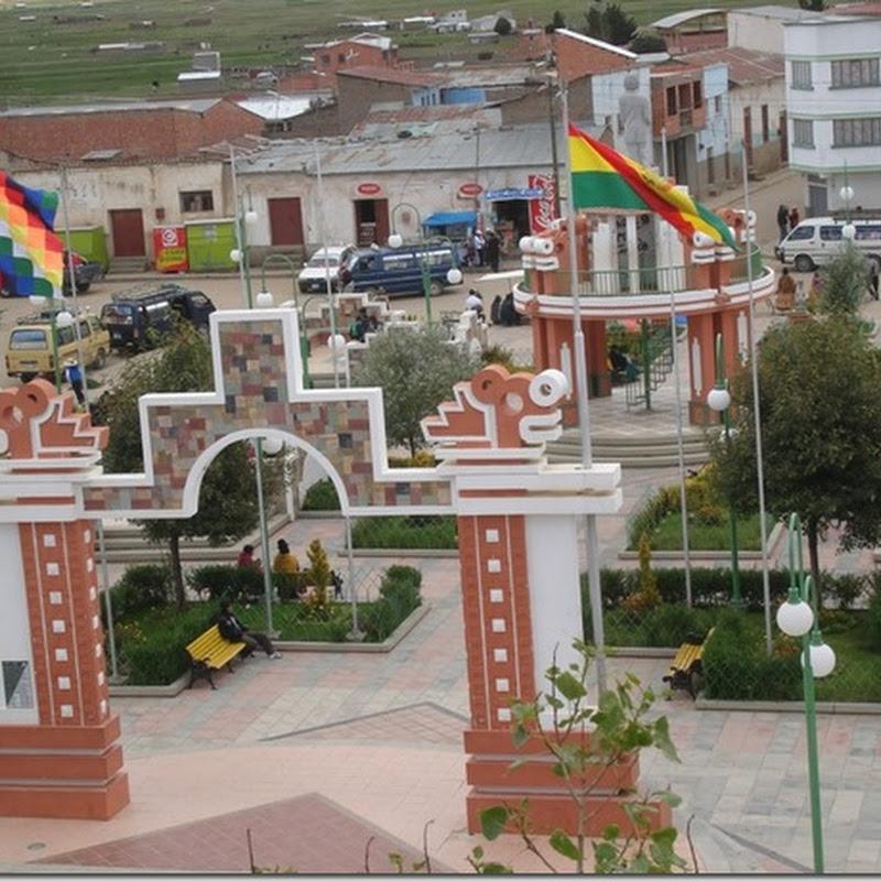 Pucarani: municipio paceño, Bolivia