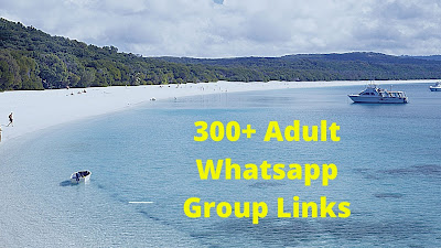Join Latest 300+ Adult Whatsapp Group Links List