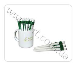 Photo: Ручки, чашки с логотипом компании Amatex