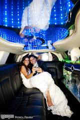 Foto 1767. Marcadores: 23/04/2011, Casamento Beatriz e Leonardo, Limosine, Limousine, Rio de Janeiro