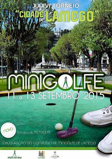 """Complexo Desportivo acolhe Torneio de Minigolfe """"Cidade de Lamego"""""""
