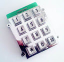 anti vandal keypad CT-KPZ01-12