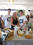 Lucinda and sons Calder and Miles with some delicious redipes from Mad Hungry.
