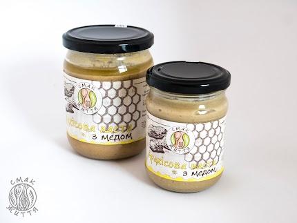 Арахісова паста з медом