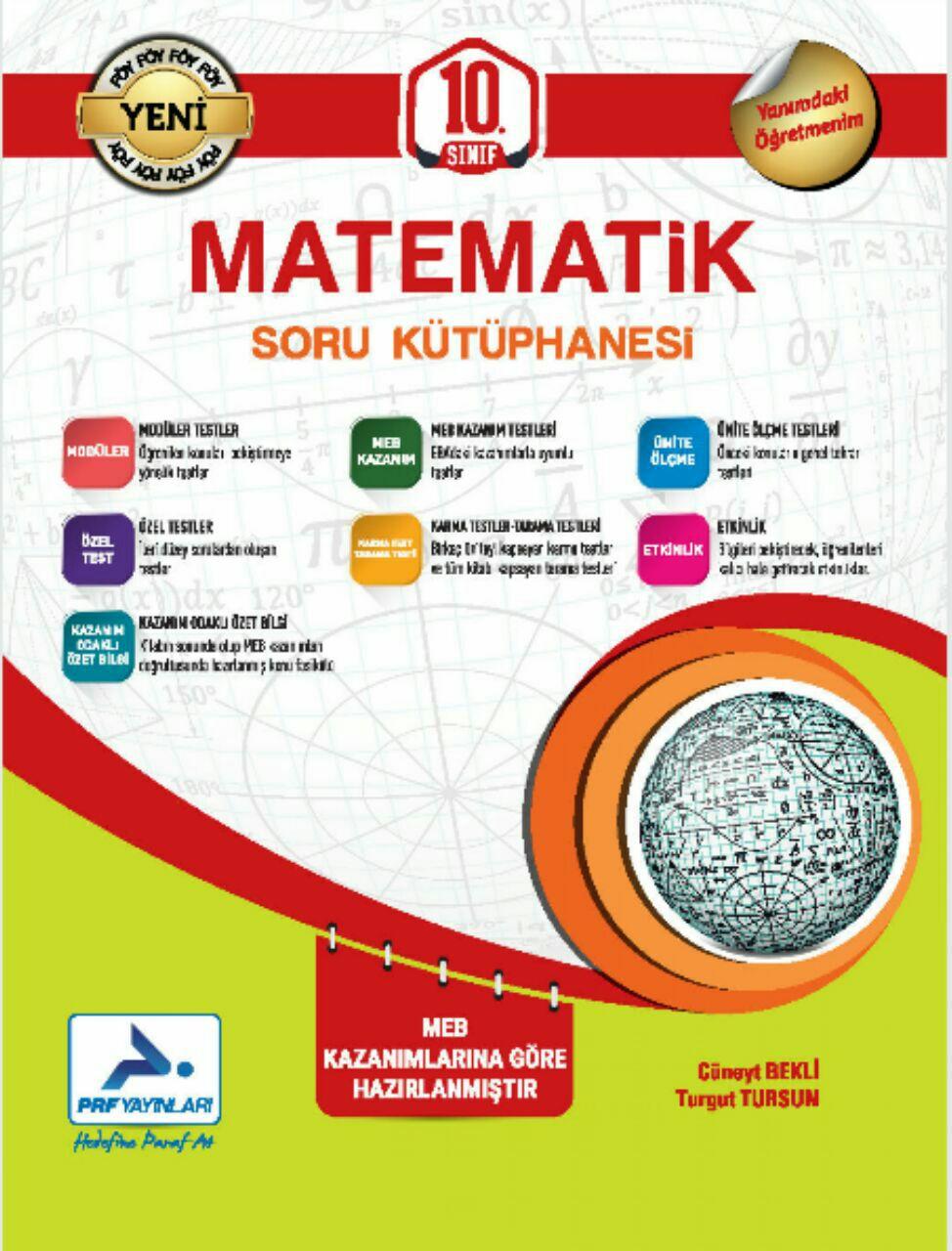 Paraf Yayınları 10.Sınıf TYT Matematik Soru Bankası