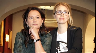 Borgen: Birgitte and Katrine