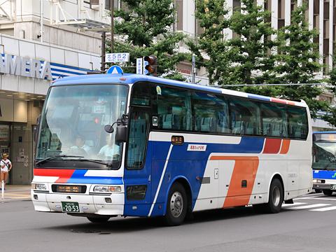 北海道北見バス「高速えんがる号」 2053