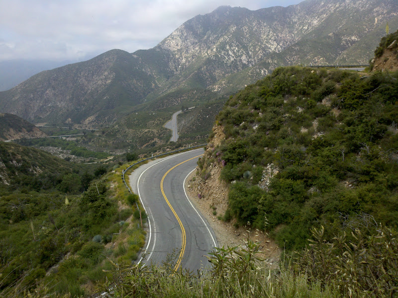 Seal Beach - Dawson Saddle - Seal Beach • San Gabriel Canyon Road