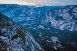Yosemite Valley from above