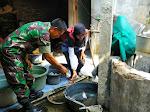Babinsa Sumbermulyo Koramil 14 Bambanglipuro Ikut PSN Serentak