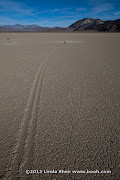 The Racetrack Playa, Death Valley National Park, California