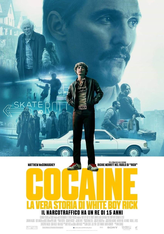 Cocaine: La vera storia di White Boy Rick dal 7 marzo al cinema