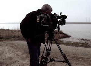 Filming on the Tank Ramp
