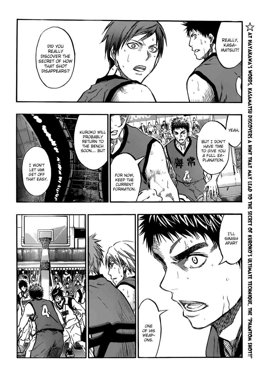Kuroko no Basket Manga Chapter 191 - Image 02