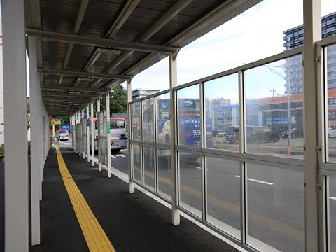 新潟交通 萬代橋ライン 青山バス停 降車バース