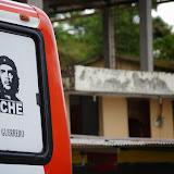 Un bus à Lita (Imbabura, Équateur), 1er décembre 2013. Photo : J.-M. Gayman