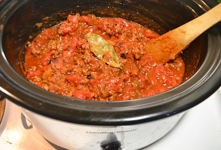 crock pot chili w
