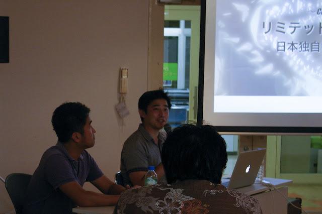 セミナーは、最近のCGアニメーションの注目作品をリストアップしてカテゴリー順にお話しされていました。