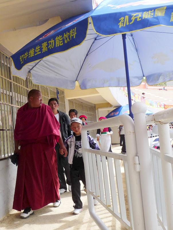 Chine. Yunnan.Shangri la Course hippique annuelle - P1250679.JPG