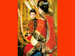 Red Samurai And Mirror
