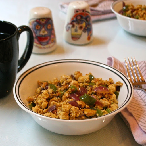 Breakfast Tofu Scramble