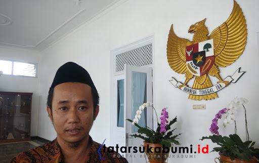 Ketua KPUD Kabupaten Sukabumi Feri Gustaman / Foto : Dian Syahputra Pasi (22/1/2019)