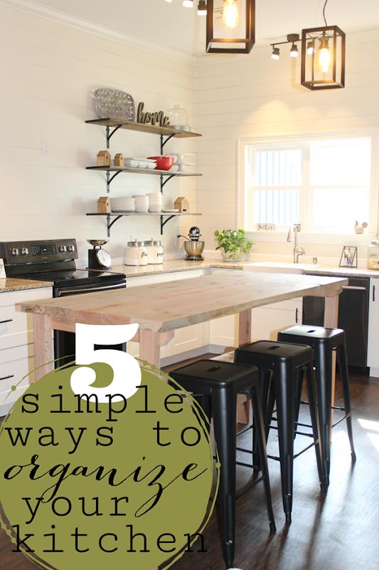 5 Simple Ways to Organize Your Kitchen at LifeStorage Blog