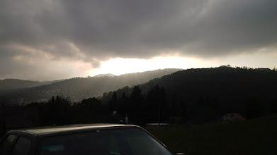 Photo: Za mrakmi muselo byť aj pekne
