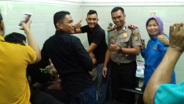 Sambut HUT Bhayangkara Ke 72, Polsek Tambun Bersama Yayasan Kalimusada Gelar Acara Baksos Sunatan Masal