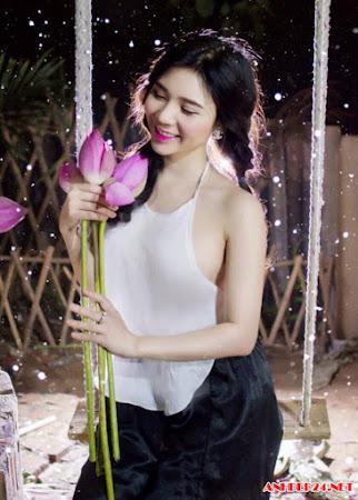 Lai Thanh cô bạn gái 9x của Quang Lê