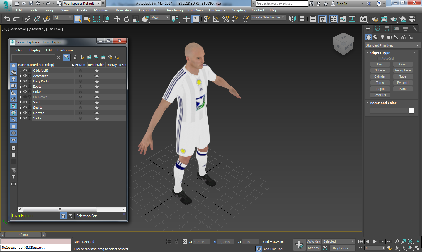 PES 2018 3D KIT STUDIO | BLOG