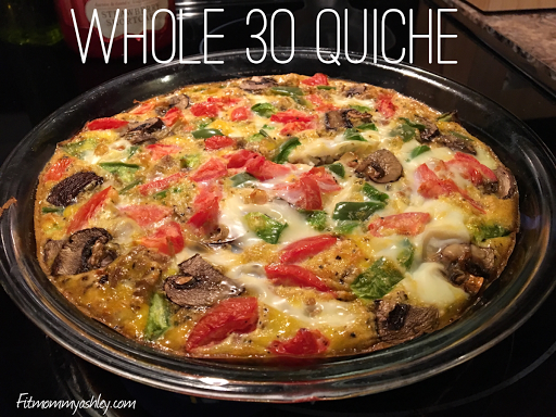 quiche, Whole 30, breakfast, ideas
