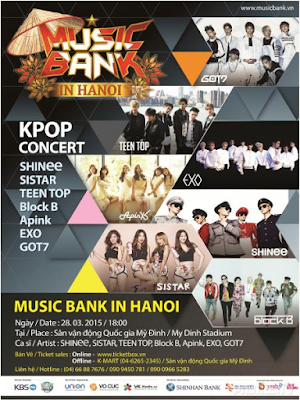 Phim Music Bank In Hanoi - Music Bank In Hanoi (2015)