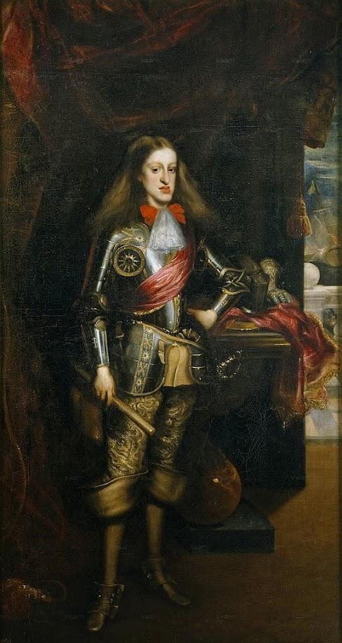 Juan Carreño de Miranda - Carlos II, con armadura
