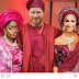 Lmao: So BBNaija's Bisola shares photo of Prince Harry and Meghan Markle's in BankyW And Adesua's traditional wedding Attire with herself next to them