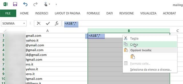 excel-email