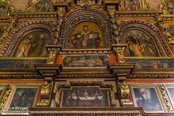 Wnętrza Drewnianej Cerkwii w Owczarach