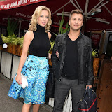 OIC - ENTSIMAGES.COM - Rachel Riley and Pasha Kovalev at the  Self-Esteem Team - book launch  in London 19th August 2015Photo Mobis Photos/OIC 0203 174 1069