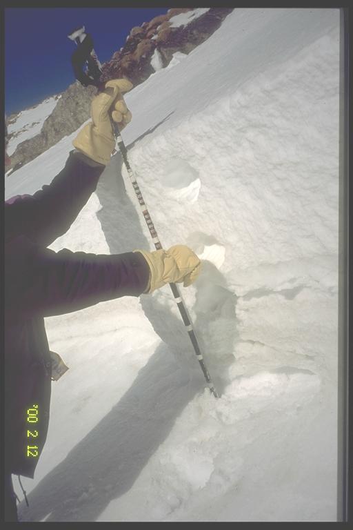 Avalanche Haute Maurienne, secteur Pointe d'Andagne, pentes face Ouest depuis les 3000 - Photo 1
