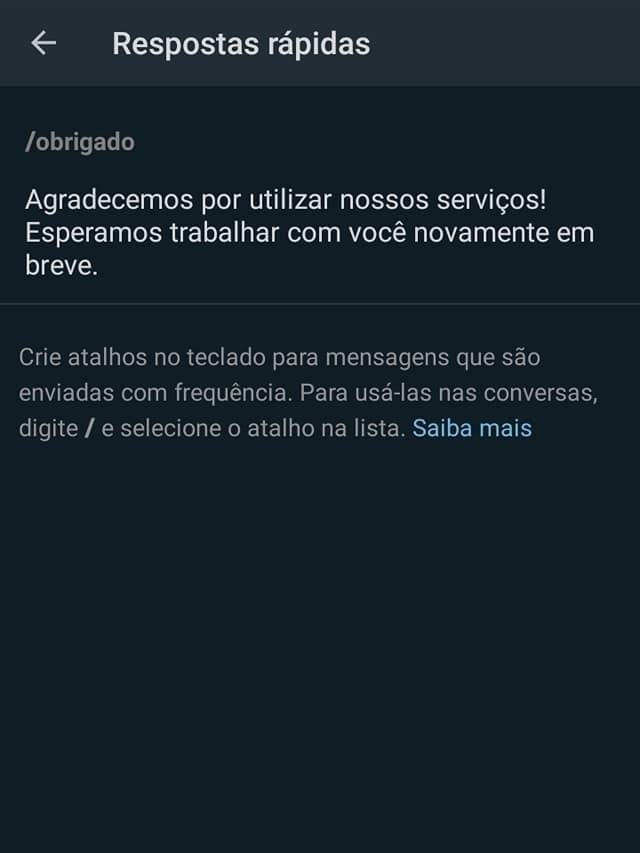WhatsApp Business Como Configurar Mensagens Automáticas [Tutorial 2021] 17