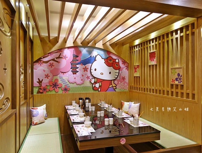 20 HELLO KITTY Shabu-Shabu 火鍋二號店 Hello Kitty  火鍋