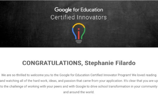 I'm a Google Innovator, You Just Don't Know Me Yet...