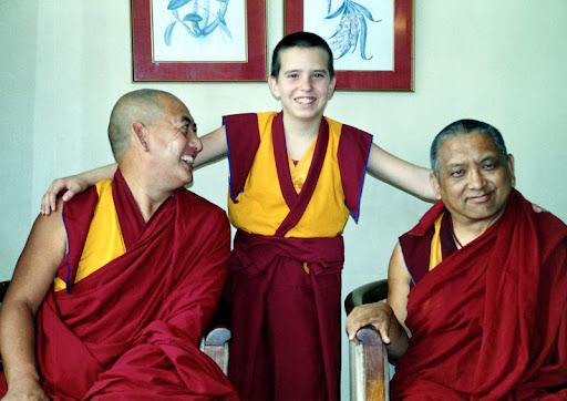 Geshe Gendun Chompel, Osel and Lama Zopa Rinpoche