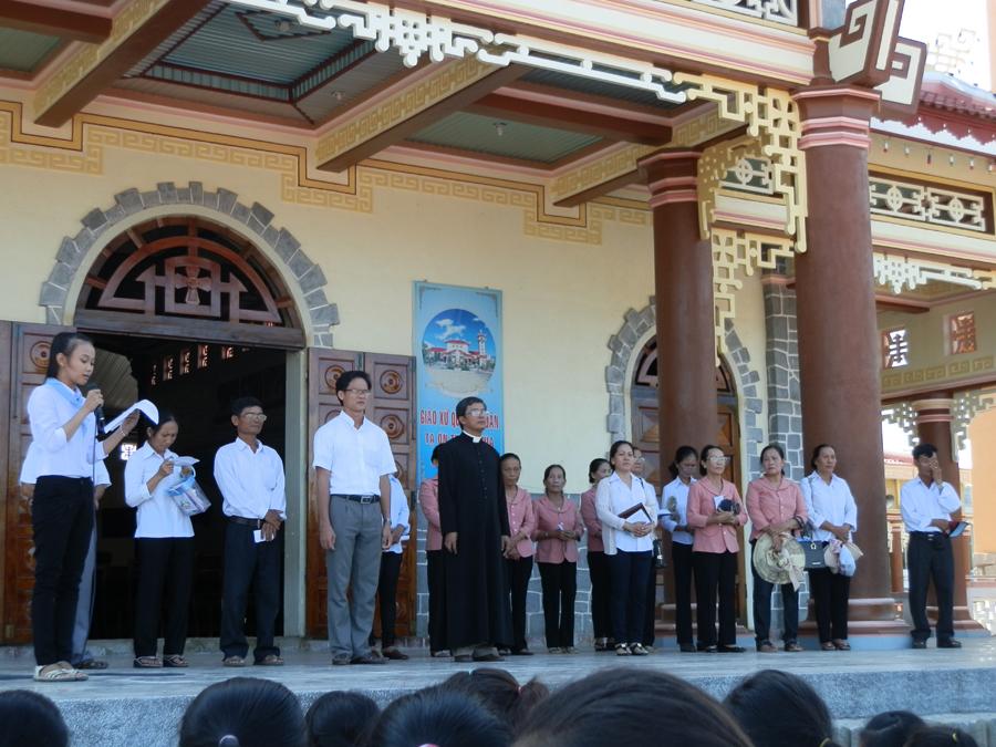 Đại hội Junior Giáo hạt Ninh Sơn