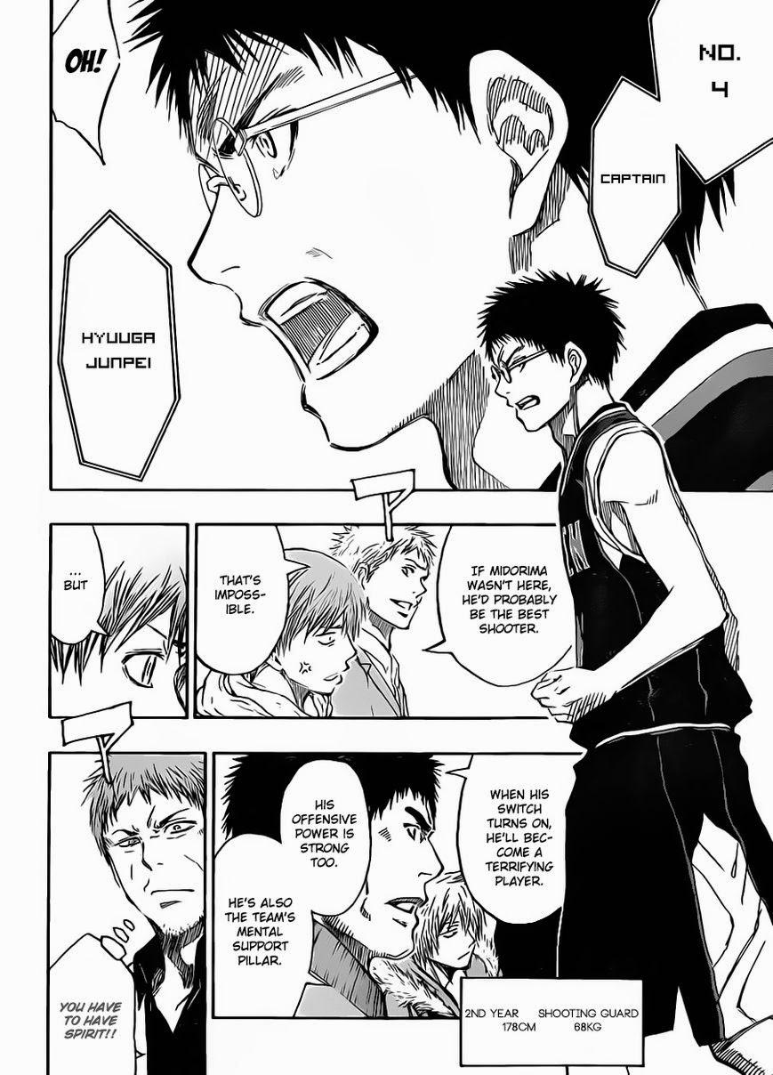 Kuroko no Basket Manga Chapter 231 - Image 13