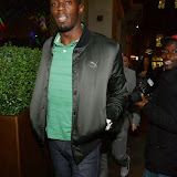 WWW.ENTSIMAGES.COM -   Usain Bolt   arriving  back to his hotel The May Fair Hotel, Stratton Street, London September 19th 2013                                                 Photo Mobis Photos/OIC 0203 174 1069